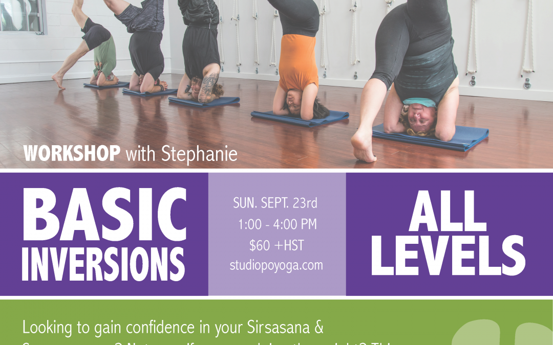 Basic Inversions: Sept. 23rd
